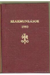 Szakmunkások 1993 (mini) - Régikönyvek
