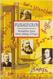 Puskalexikon - Számadó László, Pintyéné Krucsó Mária - Régikönyvek