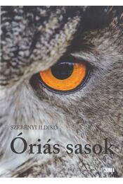Óriás sasok (dedikált) - Szebényi Ildikó - Régikönyvek