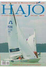 Hajó - Vitorlás, Szörf és Motorcsónak Magazin 2004. március - Szekeres László - Régikönyvek