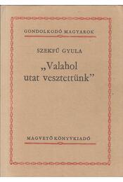 Valahol utat vesztettünk - Szekfű Gyula - Régikönyvek