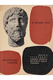 Vezető a Veszprémi Bakonyi Múzeum régészeti kiállításaiban - Szentléleky Tihamér, B. Thomas Edit - Régikönyvek