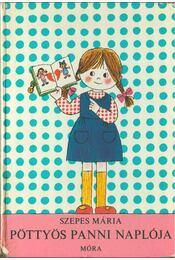 Pöttyös Panni naplója - Szepes Mária - Régikönyvek