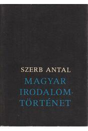 Magyar irodalomtörténet - Szerb Antal - Régikönyvek