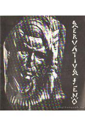 Szervátiusz Jenő szobrászművész kiállítása - Szervátiusz Tibor - Régikönyvek