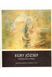 Egry József emlékkiállítása - Szíj Béla - Régikönyvek