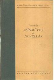 Pirandello - Színművek és novellák - Pirandello, Luigi - Régikönyvek