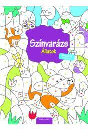 Színvarázs - Állatok - Mágikus színező - Régikönyvek
