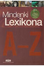 Mindenki Lexikona A-Z - Szlávik Tamás - Régikönyvek
