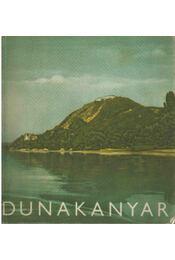 Dunakanyar képeskönyv - Szombathy Viktor - Régikönyvek