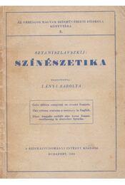 Színészetika - Sztaniszlavszkij - Régikönyvek