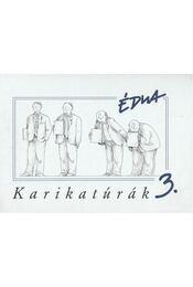 Karikatúrák 3. - Szűcs Édua - Régikönyvek