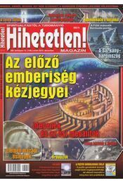 Hihetetlen! magazin 2013. december - Szűcs Róbert - Régikönyvek