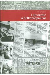 Lapszemle a hétköznapokból - Szuromi Rita - Régikönyvek