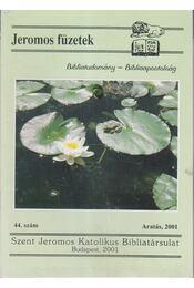 Jeromos füzetek 44. szám - Tarjányi Béla - Régikönyvek