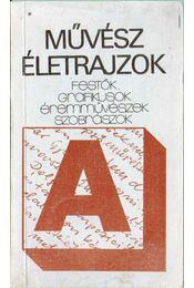 Művész életrajzok - Tasnádi Attila - Régikönyvek