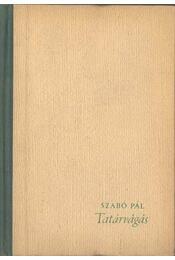 Tatárvágás - Szabó Pál - Régikönyvek