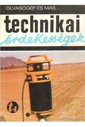 Technikai érdekességek - Régikönyvek