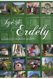 Igéző Erdély - Vándorlás végtelen utakon - Técsi Zoltán, Illyés Csaba - Régikönyvek
