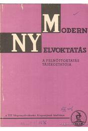 Modern nyelvoktatás XIII. évf. 1. szám - Telegdi Zsigmond - Régikönyvek
