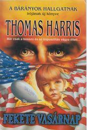 Fekete vasárnap - Thomas Harris - Régikönyvek
