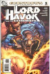 Countdown Presents: Lord Havok & The Extremists 5. - Tieri, Frank, Sharp, Liam, Robinson, Mark - Régikönyvek