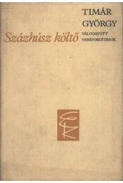 Százhúsz költő - Timár György - Régikönyvek