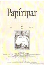 Papíripar 2006/2 - Több szerkesztő - Régikönyvek