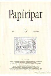Papíripar 2007/3. - Több szerkesztő - Régikönyvek
