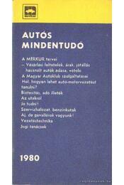 Autós mindentudó 1980. - Több szerző - Régikönyvek