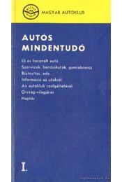 Autós mindentudó I. - Több szerző - Régikönyvek