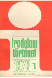 Irodalomtörténet 1973. évf. (teljes) - Több szerző - Régikönyvek