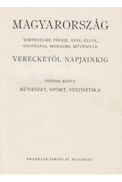 Magyarország Vereckétől napjainkig V. kötet - Több szerzős - Régikönyvek
