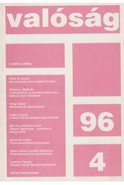 Valóság 1996/4 - Tőkéczki László - Régikönyvek