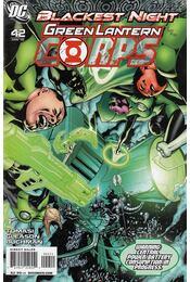 Green Lantern Corps 42. - Tomasi, Peter J., Gleason, Patrick - Régikönyvek