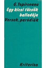 Egy kicsi tücsök balladája - Topirceanu, G. - Régikönyvek