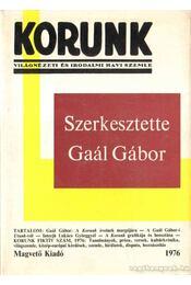Korunk 1976. - Világnézeti és irodalmi havi szemle - Tordai Zádor, Tóth Sándor - Régikönyvek