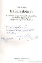 Hármaskönyv - Tóth László - Régikönyvek
