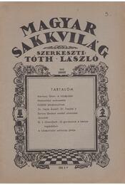 Magyar sakkvilág 1946 január - Tóth László - Régikönyvek