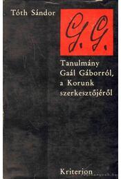 G. G. - Tóth Sándor - Régikönyvek