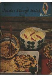 Ízletes könnyű ételek - Turós Emil - Régikönyvek