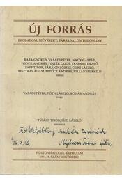 Új Forrás 1994/8 október - Tüskés Tibor, Füzi László, Dr. Monostori Imre (szerk.) - Régikönyvek