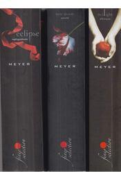 3 db Twilight - Alkonyat kötet - Stephenie Meyer - Régikönyvek
