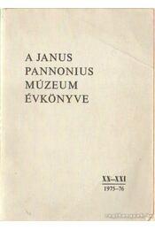 A Janus Pannonius Múzeum évkönyve XX-XXI. (1975-76) - Uherkovich Ákos (főszerk.) - Régikönyvek