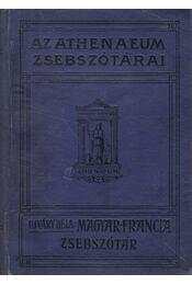 Magyar és francia zsebszótár - Ujváry Béla - Régikönyvek