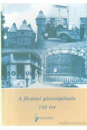 A fővárosi gázszolgáltatás 150 éve - Vadas Ferenc, Dr. Balogh András, Dr. Gulyásné Gömöri Anikó - Régikönyvek