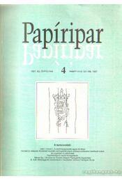 Papíripar 1997. 4. szám - Vámos György - Régikönyvek