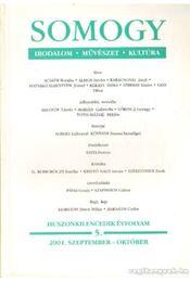 Somogy 2001. szeptember-október 5. - Varga István - Régikönyvek