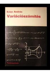 Variációszámítás - Kósa András - Régikönyvek