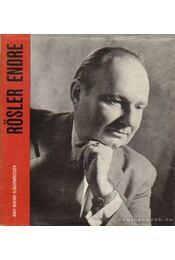 Rösler Endre - Várnai Péter - Régikönyvek